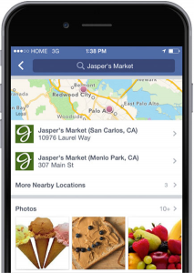 Facebook ads for Locations
